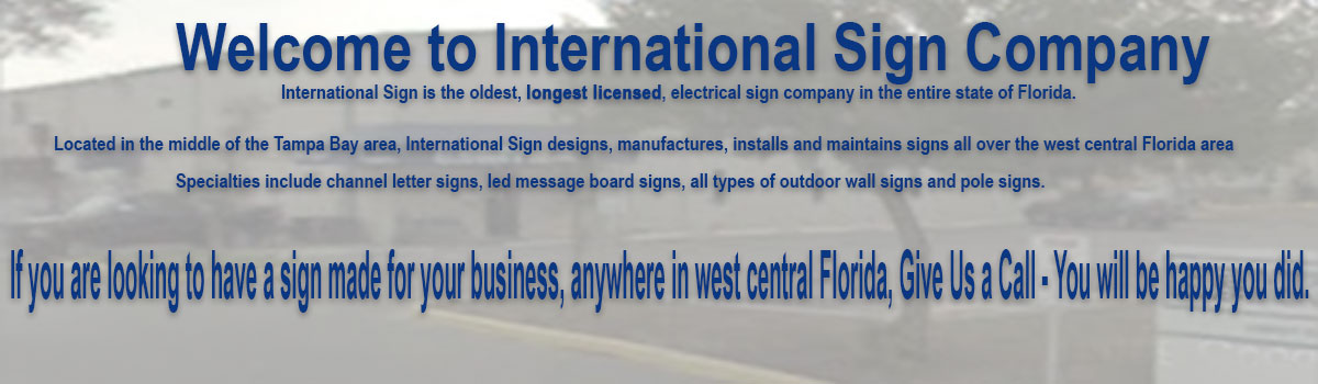 In Sarasota, International Sign is ready to help you with your signage company needs or requirements. International Sign specializes in the design, manufacture, installation of Routed Letters Sign in all of Sarasota county, International Sign is ready to serve your business signs outdoor needs. Here to serve you International Sign does business in Sarasota in Sarasota county FL. Area codes we service include the  area code and the 